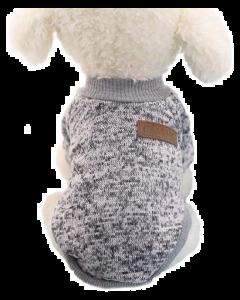 Coton ouaté pour chiens, gris