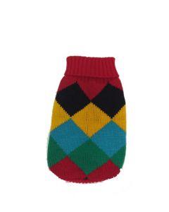 Chandail de tricot unisex pour chiens, coloré