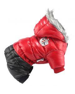 Manteau impermeable 4 pattes d'hiver Petasia pour chien
