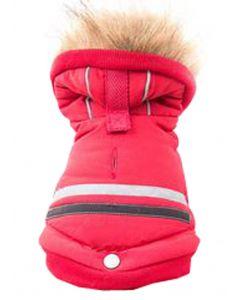 Manteau doublé sans pattes pour grand chien