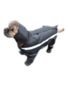 Manteau imperméable à 4 pattes pour chien