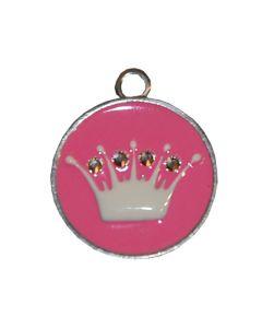 Médaille pour chien couronne